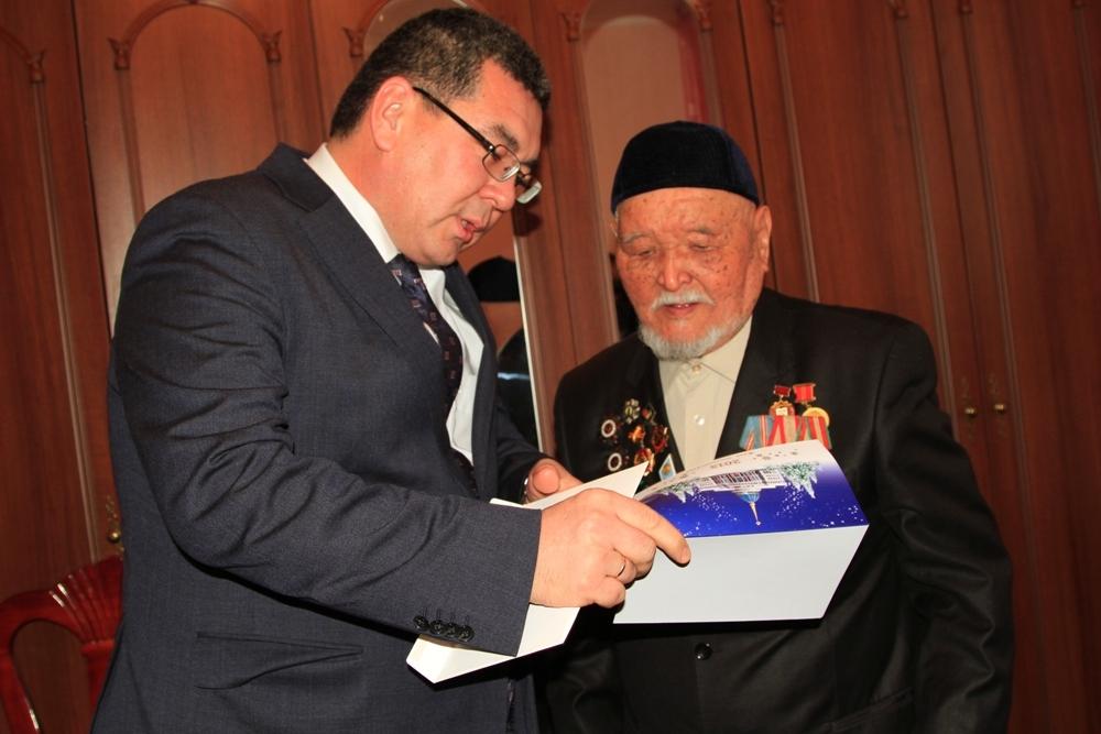 Участники вов рк получили открытки от президента