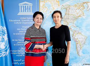 Kazakhstan and UNESCO to set up International Center for Rapprochement of Cultures