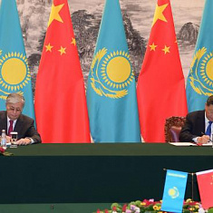 Kazakh and Chinese Presidents sign a joint statement
