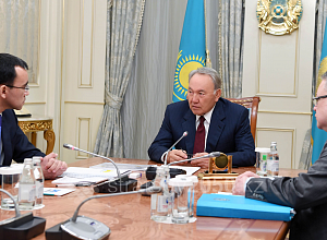"N.Nazarbayev: The goal of ""Zhas Otan"" is to bring together all young Kazakhstanis"