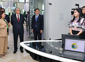 Head of State visited Digital Center
