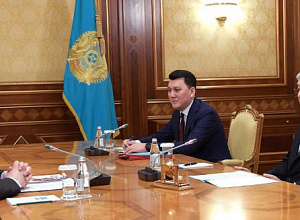 President received member of National Public Confidence Council Mikhail Dorofeyev