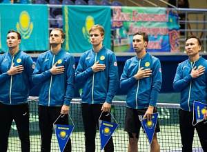 Davis Cup: Kazakhstan to face Netherlands and GB