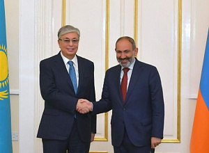 K.Tokayev met with Prime Minister of Armenia Nikol Pashinyan