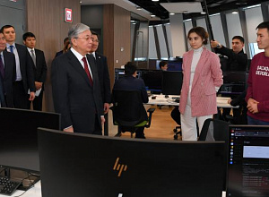 Kazakh Head of State toured the capital's innovation facilities