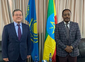 Kazakhstan, Ethiopia discussed bilateral cooperation
