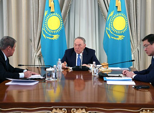 Special report on siting chaired by Nursultan Nazarbayev to be on TV