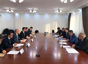 Kazakh Trade and Integration Ministry discussed coop with China's Inspur Group