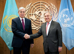 Kazakh President held bilateral meetings on UN margins