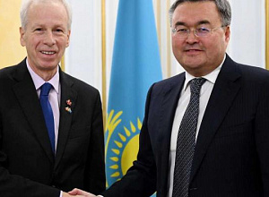 Kazakh Foreign Minister met with the Canadian Prime Minister's Special Envoy