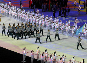 Kazakh Armed Force team takes part in 7th World Military Games in China