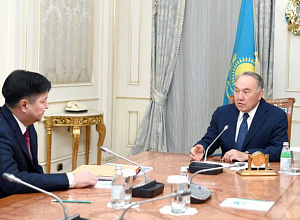 Elbasy met with Supreme Court Chairman