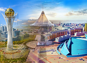 How many people will live in Nur-Sultan by 2050?