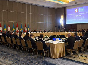 Nur-Sultan hosted Kazakh-Swiss round table with presence of Kazakh Trade Minister and Swiss President
