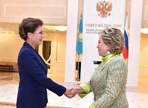 Dariga Nazarbayeva, Valentina Matviyenko discussed bilateral relations