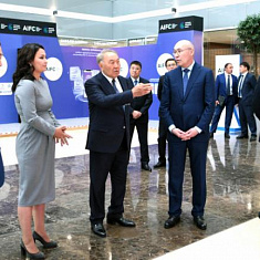First President of Kazakhstan visited AIFC