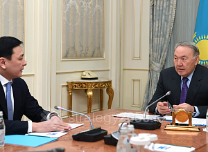 Head of State received Governor of West Kazakhstan region