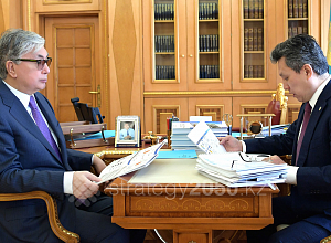 President gave several instructions to Sultanov on further development of the capital